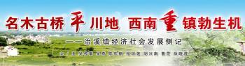 名木古桥平川地 西南重镇勃生机——冶溪镇经济社会发
