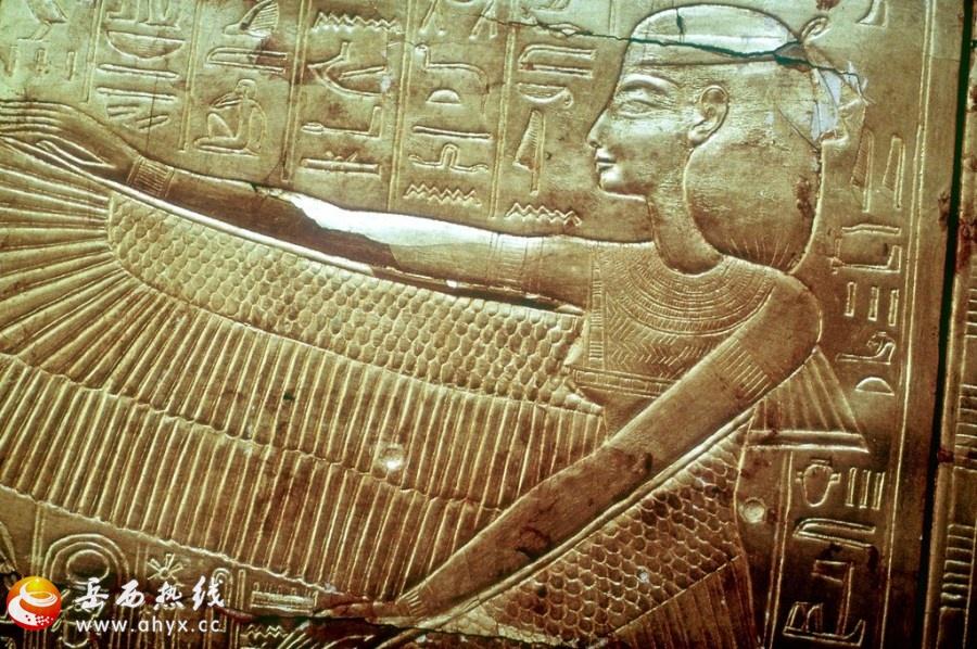 神秘的古埃及浮雕画