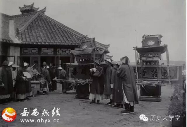 八国联军入侵北京的老照片