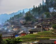 乌肖苗寨鼓藏节
