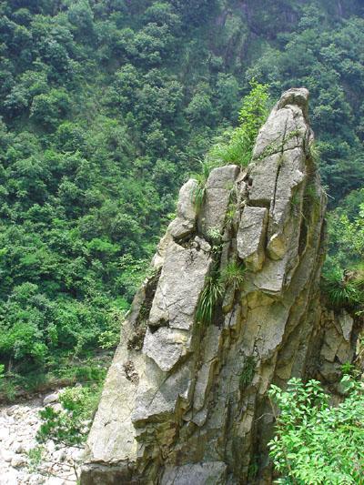 [风景]鹭鸶河峡谷----潭.石头和鱼 - 行行摄摄 - 岳西