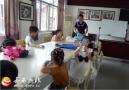 岳西县图书馆手工小课堂开课啦
