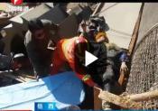 岳西:违规操作 工人被困洗砂机