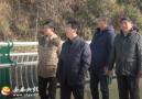 县委宣传部到土桥村检查文化发展项目