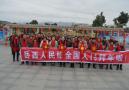 中央电视7台栏目组到温泉镇榆树村拍摄上春晚节目