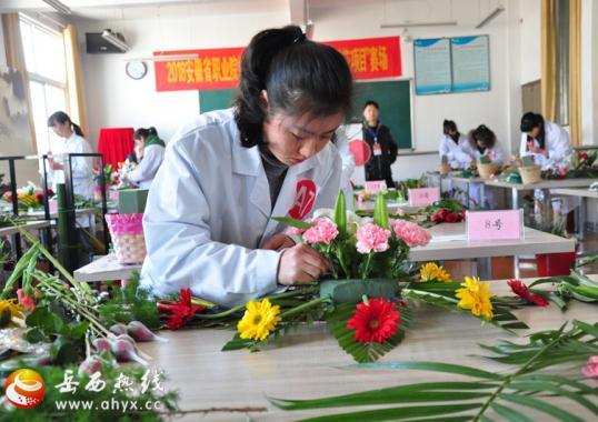 2018年省职业院校技能大赛中职组竞赛在岳西举行