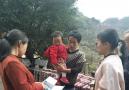 姚河乡妇联看望慰问贫困儿童