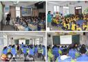 天堂中心学校到五河中心学校开展送培送教活动
