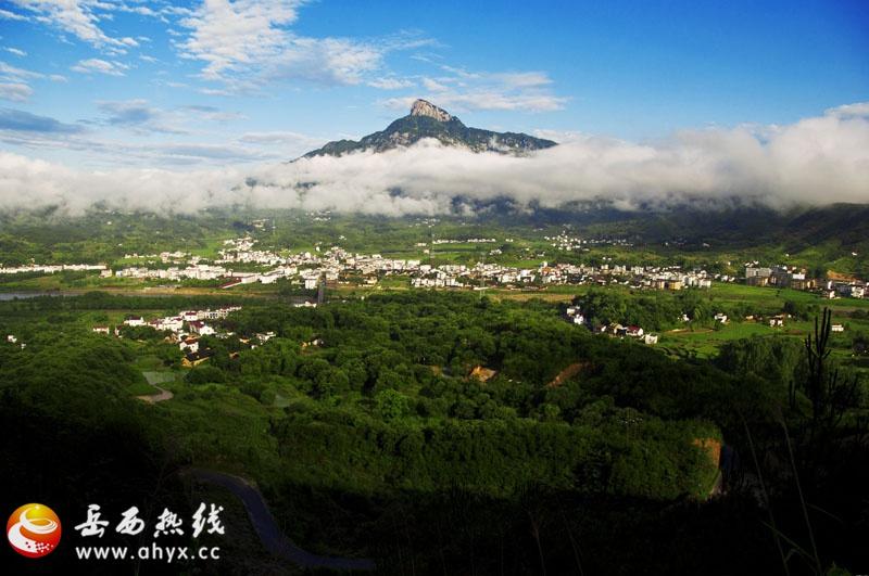 松波寺位于中华禅宗第一山——安徽省司空山西部,冶溪