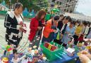 五河镇中心幼儿园开展亲子手工作品比赛活动
