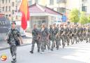 岳西县常态应急民兵分队走红军路接受红色教育
