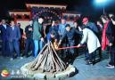 来榜镇举行首届马元古村落文化节