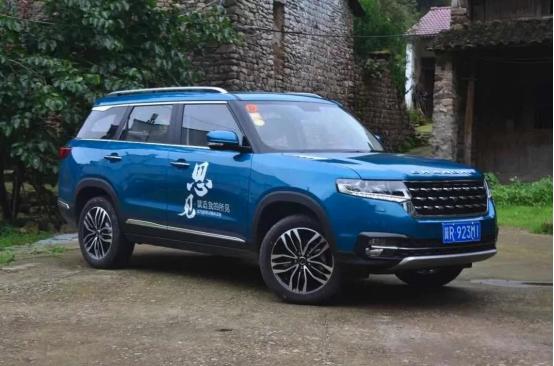 北汽昌河q7 自主品牌汽车的骄傲