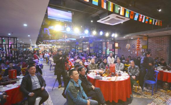 岳西县青年创业者协会新春年会成功举办