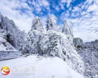 一场春雪,美了八里