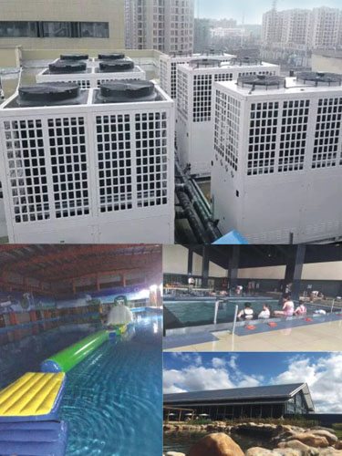 节能、恒温、大水量,酒店泳池热水越来越青睐空气源热泵