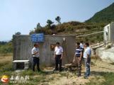 王金桥到琥珀村调研农村饮水工程