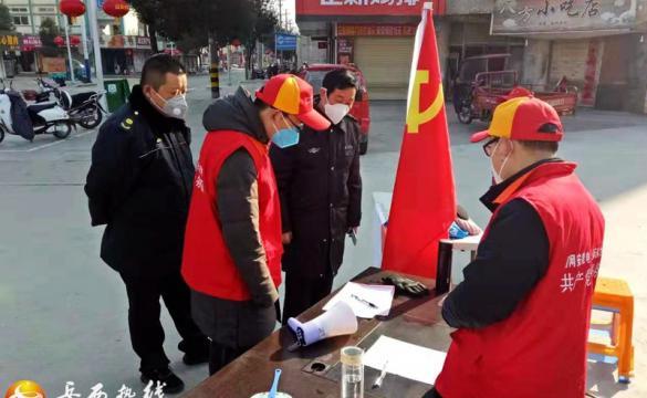 岳西疫情防控期间实行统筹综合执法进行巡查
