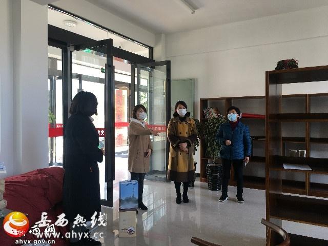 岳西县妇联深入天堂镇石桥村督导工作