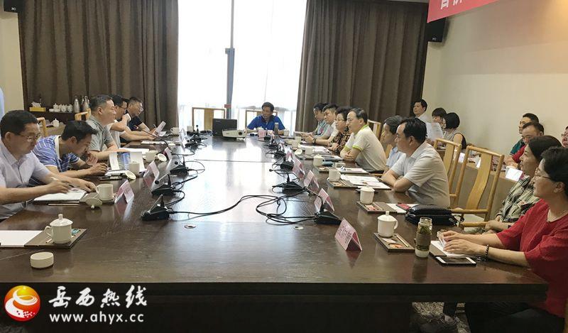 省侨商联合会来岳西开展招商考察活动