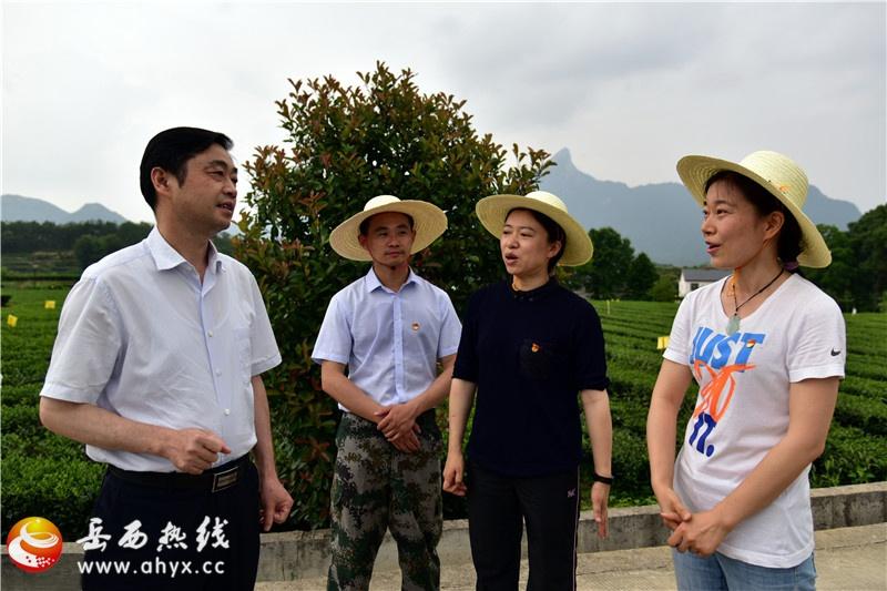 省委组织部来岳看望省委党校中青班学员