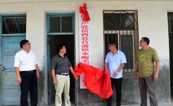 岳西县第一家村级联合党委在菖蒲镇成立