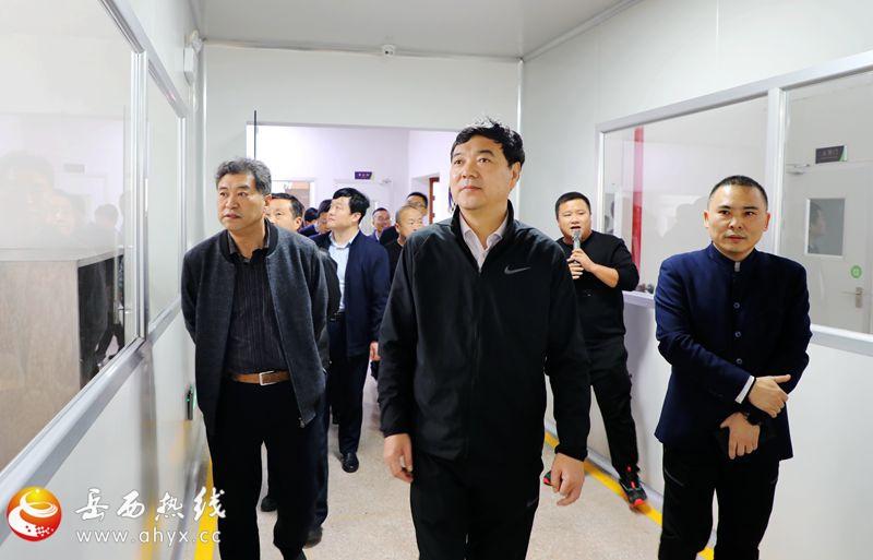 岳西党政代表团赴长三角考察学习走进安吉