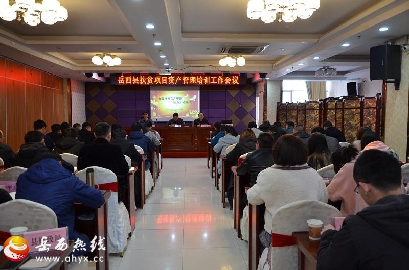 岳西县加强和规范扶贫资产管理工作